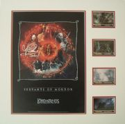 Lawrence Makoare & Sala Baker Signed Lord Of The Rings Lythograph Display Set